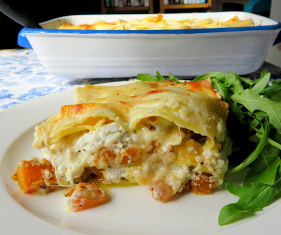 Butternut Squash & Goat's Cheese Lasagne
