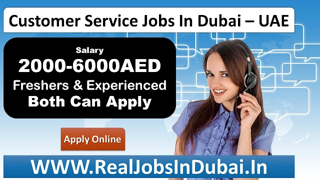 Customer Service Jobs In Dubai UAE