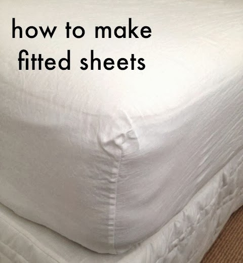Tutorial: How To Make Your Own Fitted Sheets | Sew Tessuti ...