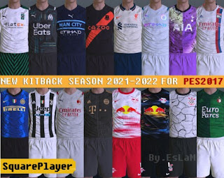 PES 2017 Kitpack V7 Season 2021-22 BY EsLaM