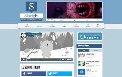 Skwigly, le sommet bleu