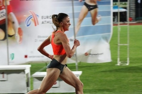 Luiza Gega qualified for the finals for 1500 meters