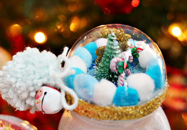 Handmade, Christmas, Holiday, gifts, candy, jar, mason, pompoms