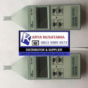 Jual SL 4001 Sound Level Meter Calibrating Input di Malang