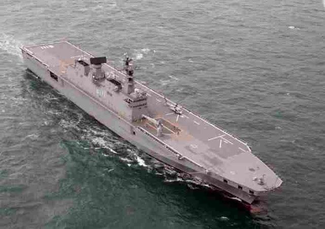 ROKS Marado – Kapal Induk Helikopter Kedua Korea Selatan Resmi Beroperasi