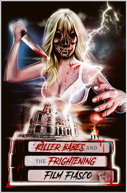 "Espectacular poster de ""Killer Babes and the Frightening Film Fiasco"""