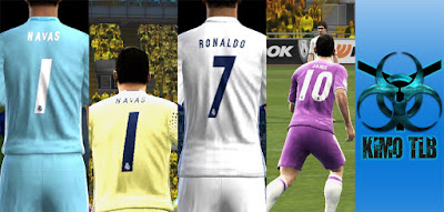 PES 2013 Real Madrid Kit 2016-17 V.4 By KIMO T.L.B 19