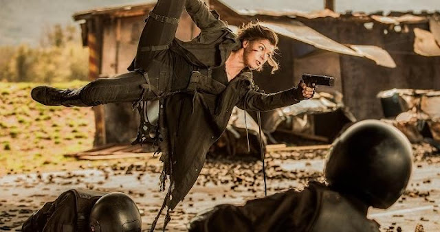 Milla Jovovich en Resident Evil: The Final Chapter