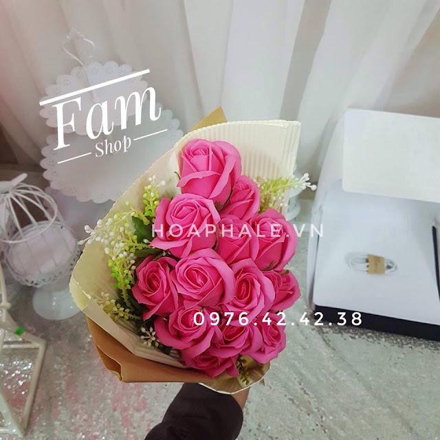 Hoa hong sap thom vinh cuu tai Nghia Dung