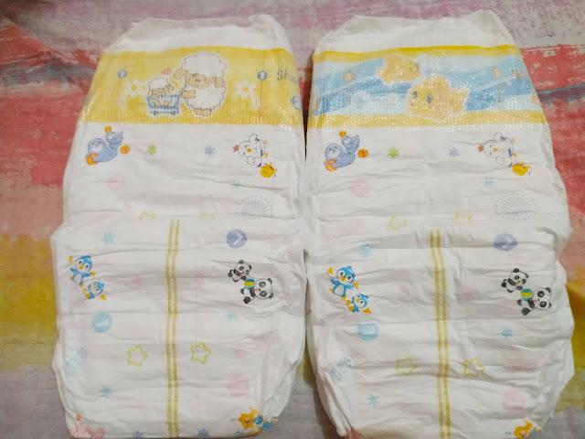 goon tape diaper front print