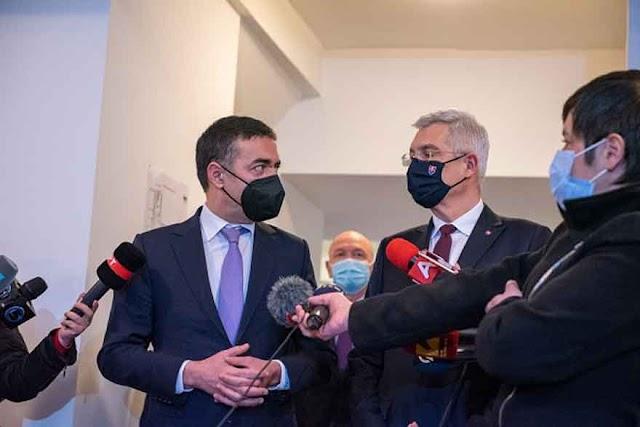 Slowakischer Außenminister zu Besuch in Skopje