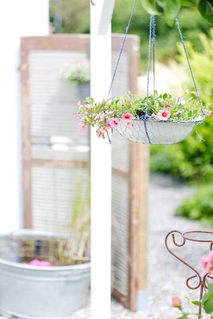 Sichtschutz aus Fensterläden, Pomponetti
