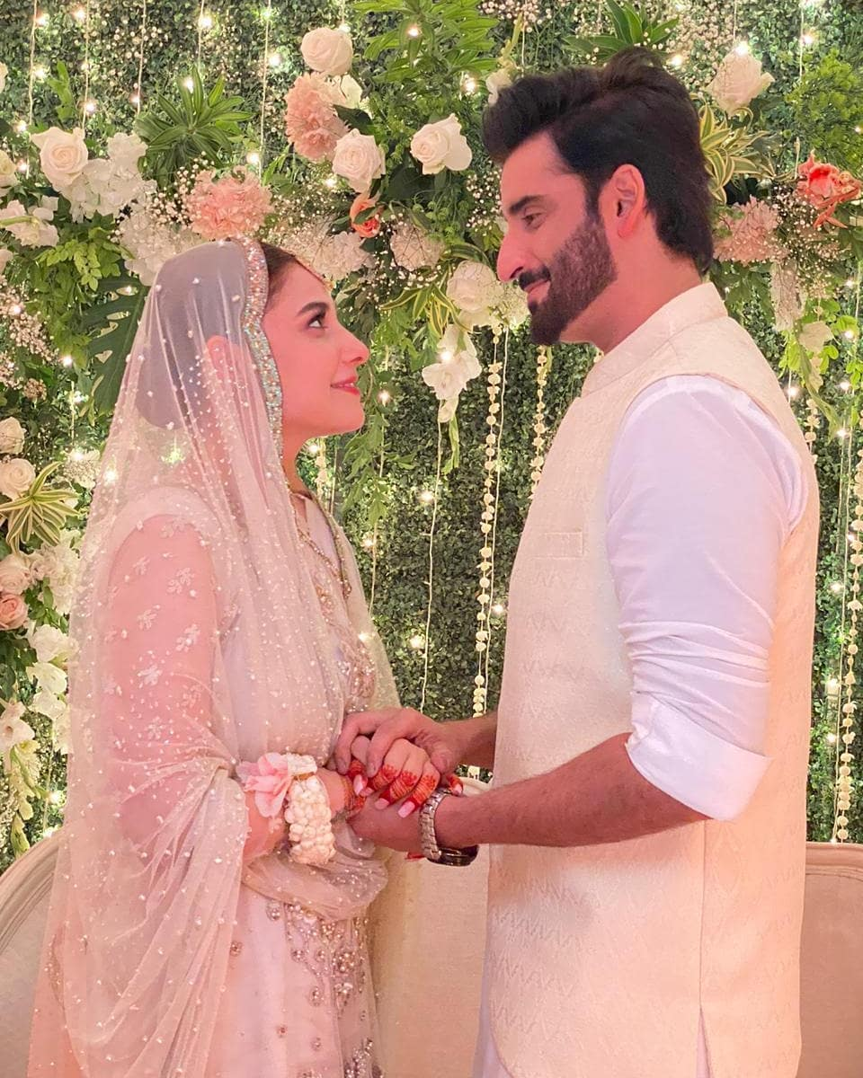 Hina Altaf and Aagha Ali Got Married in a Close Nikkah Ceremony