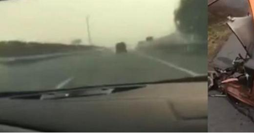 Ils se filment en roulant à 320km/h sur l'autoroute: quelques instants plus tard, c'est le drame (Vidéo)