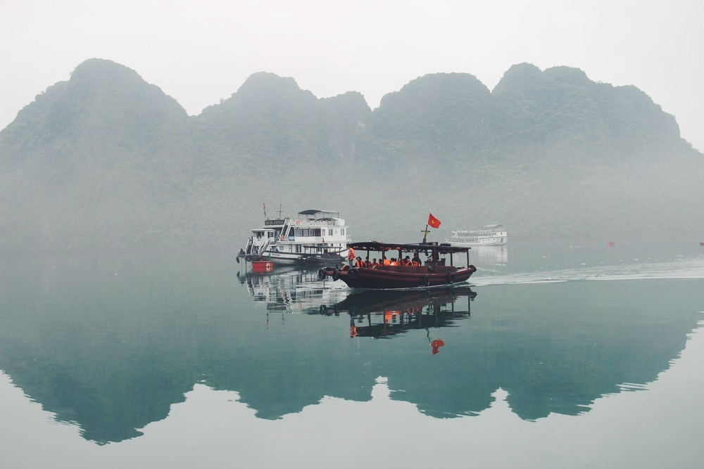 Halong Bay: Boot Trip Teil 2