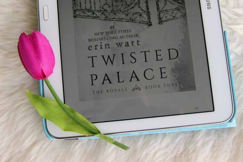 """Twisted Palace""   Erin Watt The Royals Book Three"