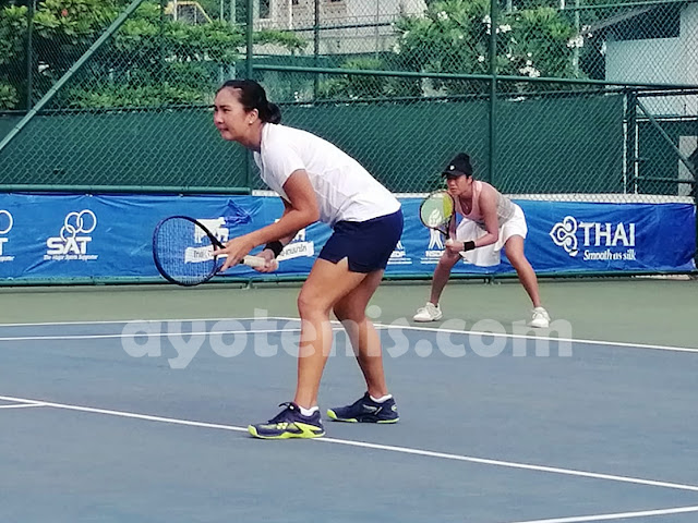 Aldila Sutjiadi/Eudice Chong Melenggang ke Semifinal ITF World Tennis Tour Thailand 25K