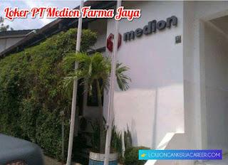Lowongan Kerja PT Medion Farma Jaya Terbaru 2020 di Bandung area Cimareme dan Babakan Ciparay
