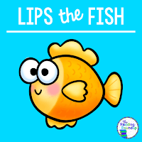 he Reading Roundup - Decoding Secret - Beanie Baby Reading Strategies - Lips the Fish