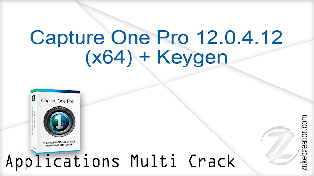 Capture One Pro 12.0.4.12 (x64) + Keygen   |   158 MB