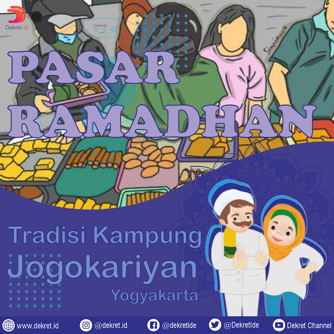 Pasar Ramadhan: Tradisi Kampung Jogokariyan Yogyakarta
