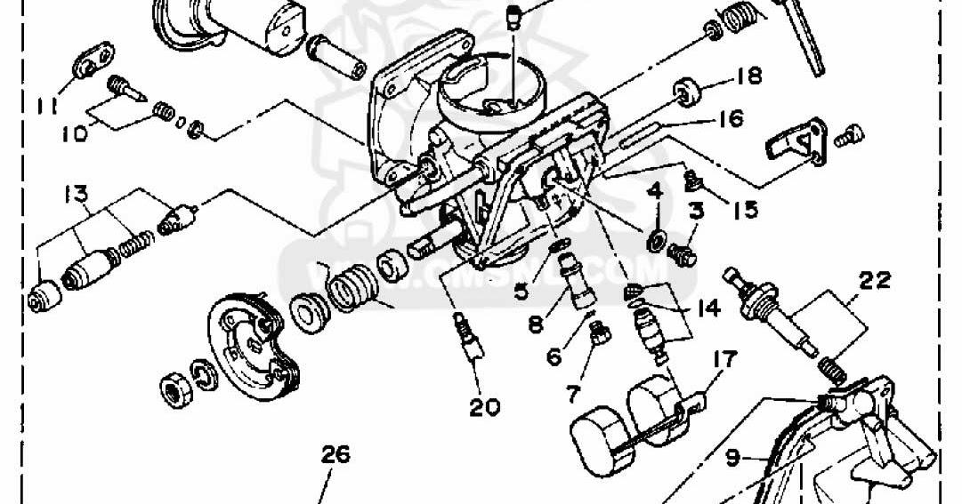 Yamaha Virago 250 Carburetor Diagram