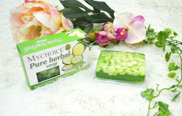 MyChoice Pure Herbal Fruity Soap with Cucumber Extract review