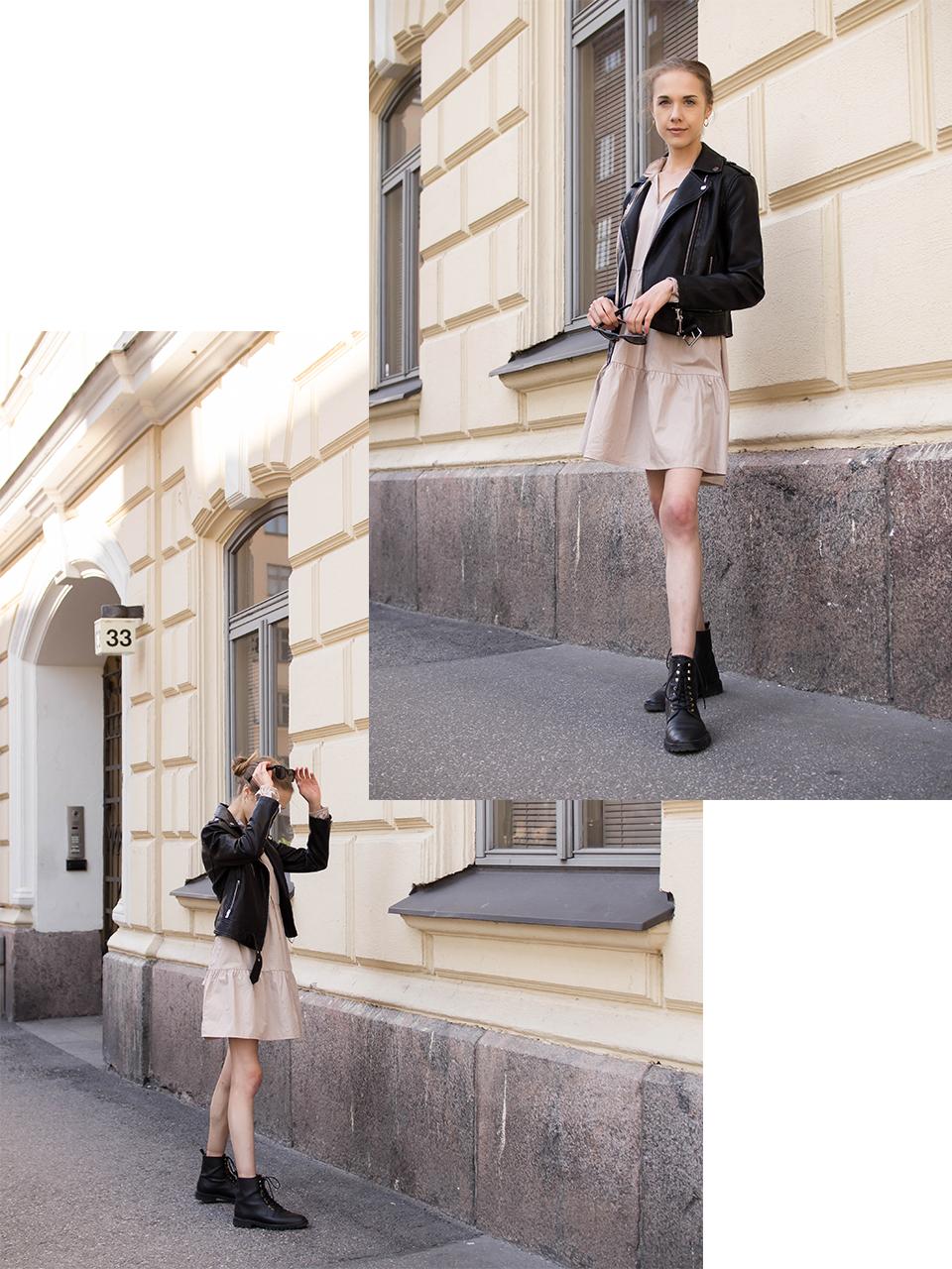 Saint Laurent inspired minimal outfit - Saint Laurent inspiroima minimalistinen asu