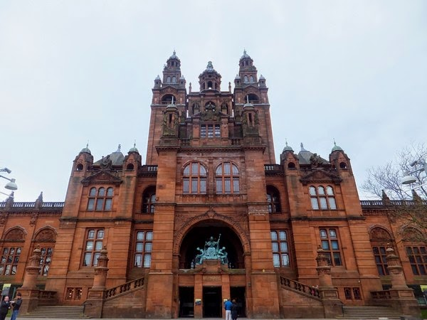 Glasgow Scotland écosse West End kelvingrove museum