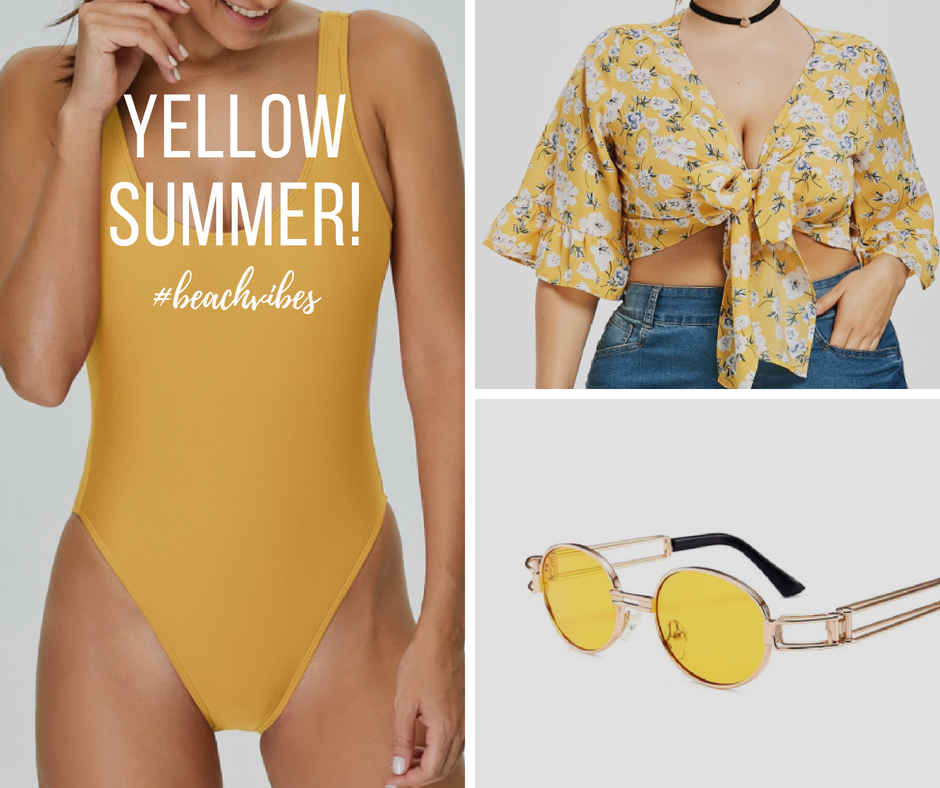 Yellow turned out to be my summer color. I'm far from having a huge amount of clothes of this color, but I find myself picking on the few I have, often. Click to read more!