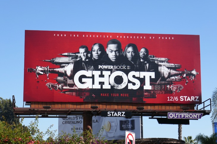 Power Ghost midseason 1 billboard