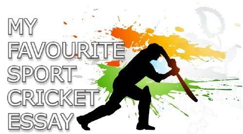 My favourite sport cricket essay