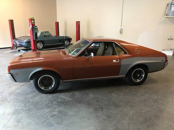 1969 AMX Just Out Of Storage