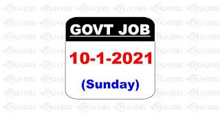 govt jobs 10 jan 2020