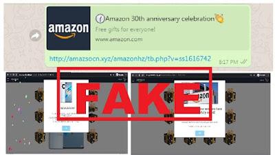 amazon 30th anniversary celebration Fack