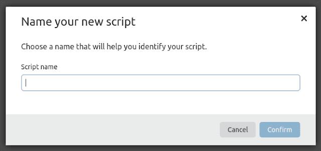 Nomeie o seu script - TéchneDigitus