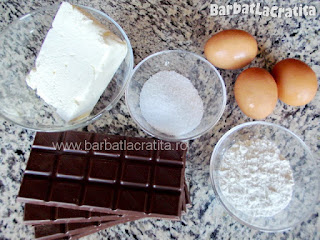 Vulcan de ciocolata prajitura ingrediente reteta