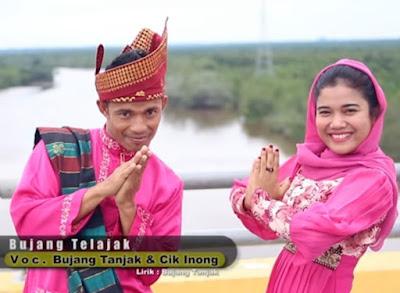 Lirik Lagu Bujang Telajak - Bujang Tanjak & Cik Inong
