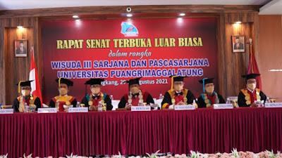 Universitas Puangrimaggalatung Sukses Gelar Wisuda Dengan tetap patuhi Protkes