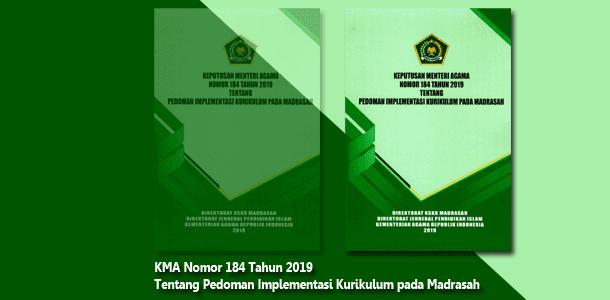 Pedoman Kurikulum Madrasah KMA Nomor 184 Tahun 2019