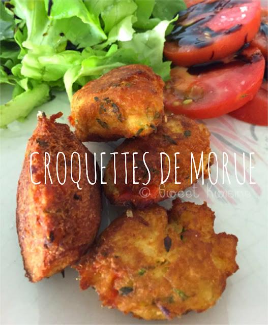 sweet kwisine, recette de poisson, manger du poisson, recette facile, cuisine antillaise, martinique, guadeloupe, morue, croquette