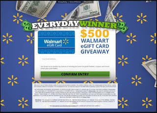 EverydayWinner - Walmart giftcard (For USA)