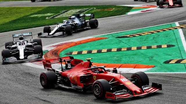Formula 1 Gran Premio Heineken D'italia 2019.09.08