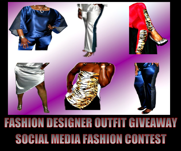Ladies Collage of Fashion Designs Created by Afi Fennick   Diamondfire Apparel Blog