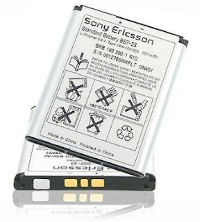 Daftar Harga Baterai Original Sony Ericsson