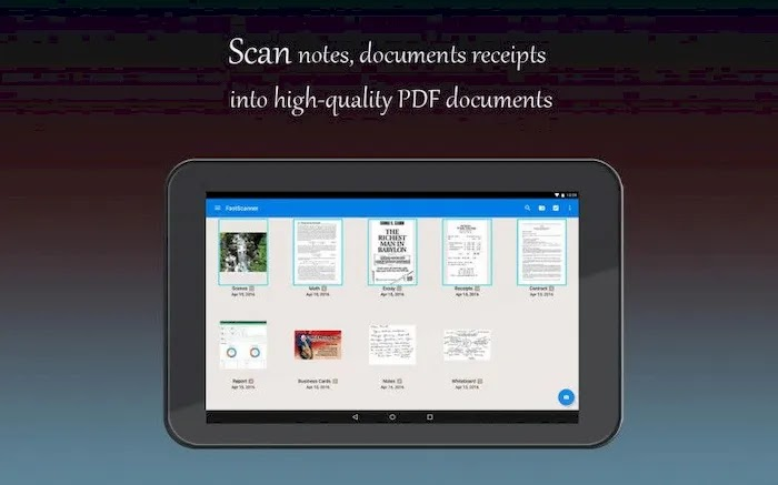 Best Scanner Apps on Android Fast Scanner