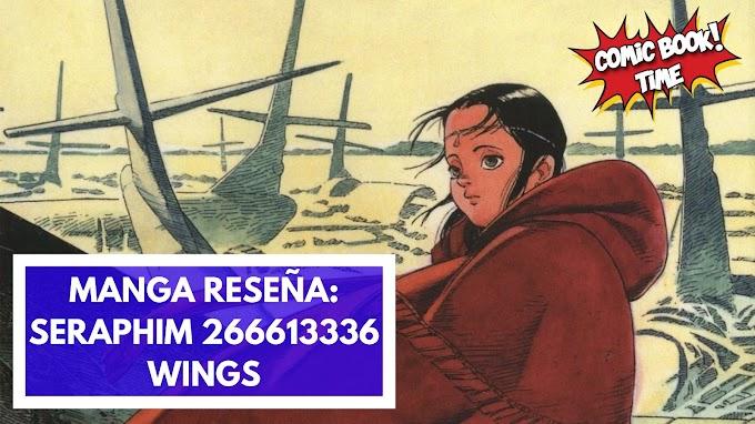"""Manga reseña: """"Seraphim 266613336 wings"""" de Mamoru Oshi y Satoshi Kon"""