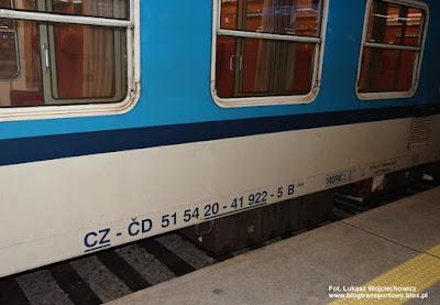Wagon klasy 2, České dráhy