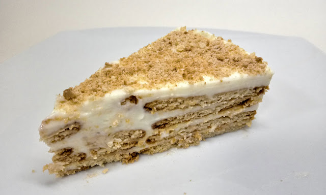 tarta de limon con galletas