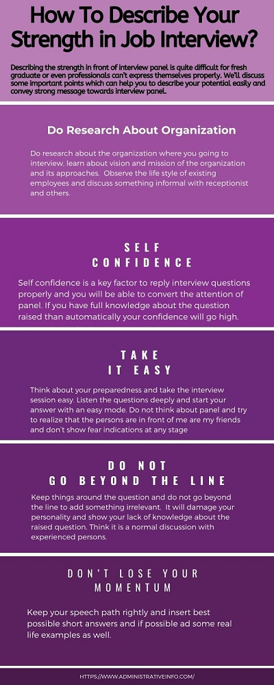 How To Describe Your Strengths in an Interview?